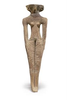 Терракотовая статуэтка наложницы