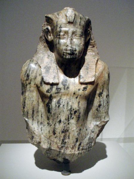 Бюст Сенусерта I. Берлинский музей № 1206