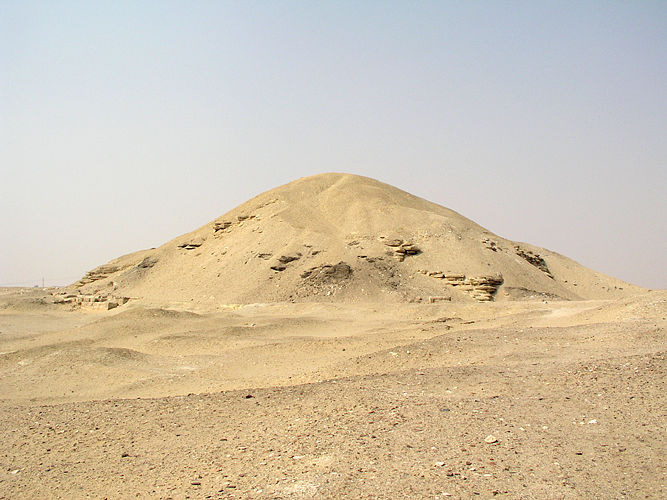 Пирамида Аменемхета I