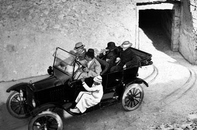 Автомобиль, на котором Карнарвон ездил между Луксором и Долиной Царей