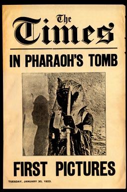 «The Times» побывали в гробнице Тутанхамона
