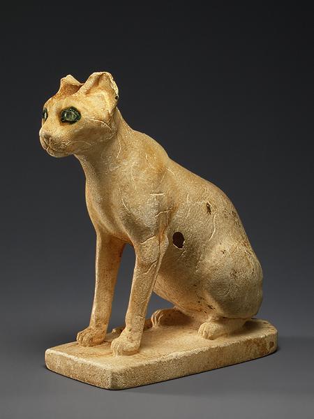 Косметический сосуд в форме кошки