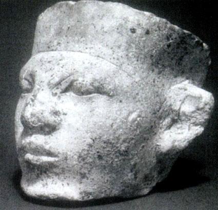 Голова раннединастического царя