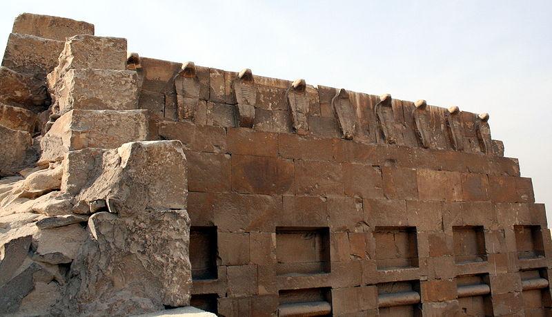 Фризы стен комплекса Джосера