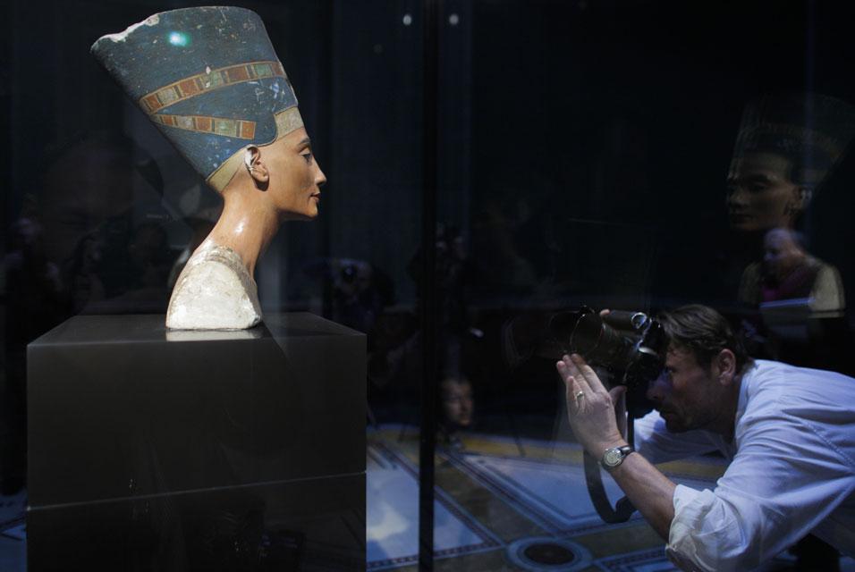 Бюст Нефертити в «Новом музее»