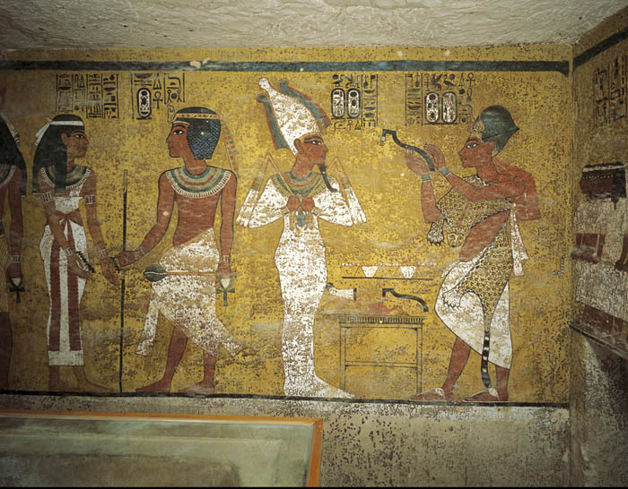 Погребальная камера гробницы Тутанхамона