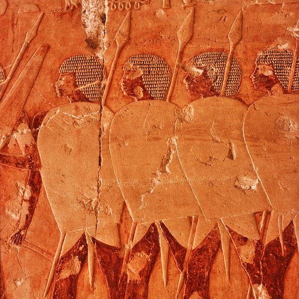 Египетские воины