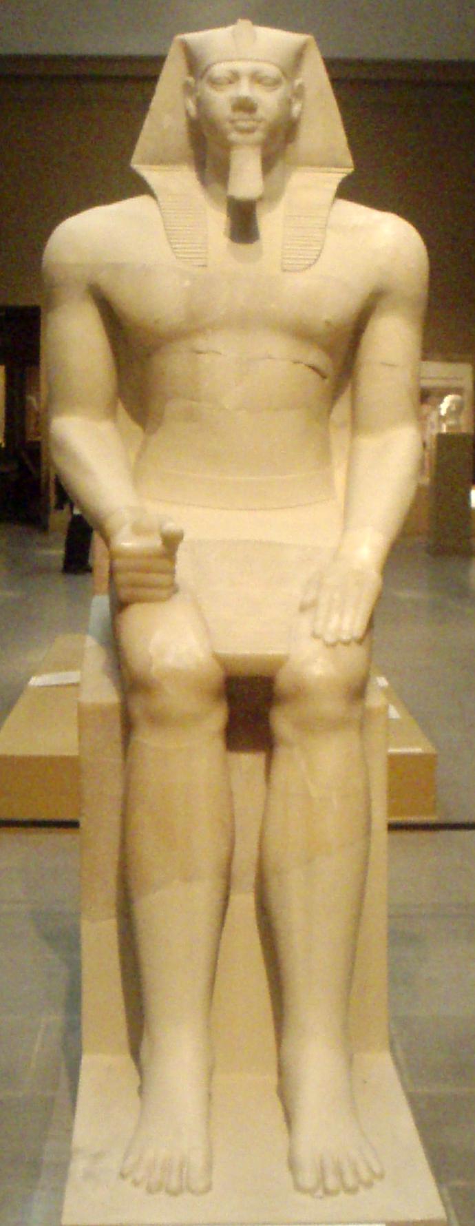 Статуя фараона Менкаура