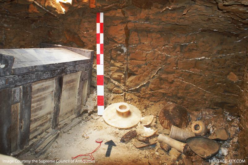 Раннединастическая гробница в Лахуне