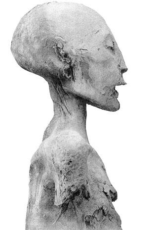 Мумия матери Тутанхамона